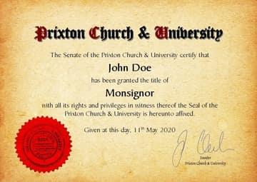 Church Title, Degree, Doctor Degree, Doctorate Degree, University, Honorary Degree, Dr.h.c., Honoris causa