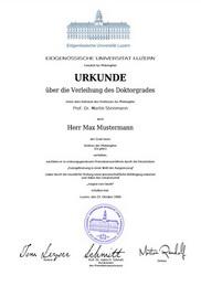 Degree, Doctor Degree, Doctorate Degree, University, Honorary Degree, Dr.h.c., Honoris causa, Fake Degree